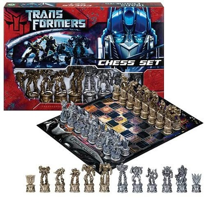 transformers-chess-set