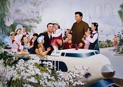 Kim Jong Il and Kim Il Sung and the kids - North korea (Eric Lafforgue) Tags: pictures school photo war asia picture korea asie coree ecole northkorea nk pyongyang dprk coreadelnorte northkorean nordkorea 5355 lafforgue    coredunord coreadelnord  northcorea coreedunord  insidenorthkorea  rpdc  coriadonorte  kimjongun coreiadonorte