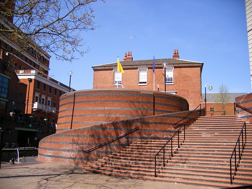 Steps in Brindley Place - Brewmaster
