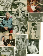 clippings # 84 (bballchico) Tags: men art collage magazine actors icons photos elvis ali picasso artists clipart singers movies athletes 1970s clippings ornettecoleman che