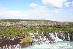 Barnafossar Hraunfossar Cascatas Islândia
