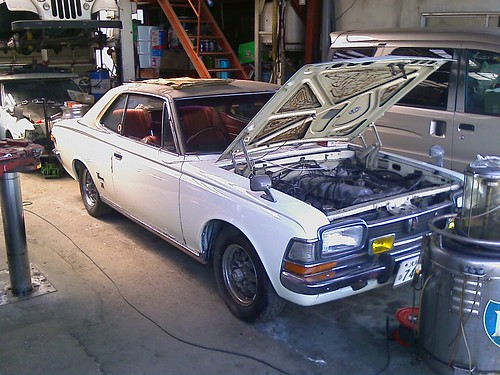 and the star of the show, the Toyota Crown Coupe