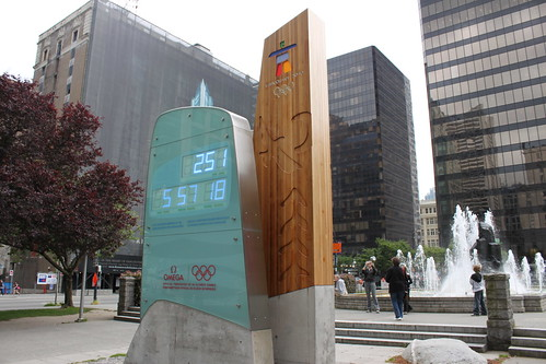 2010 Winter Olympics Countdown Clock