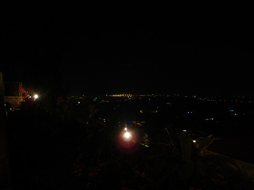 Night view of Addis Ababa