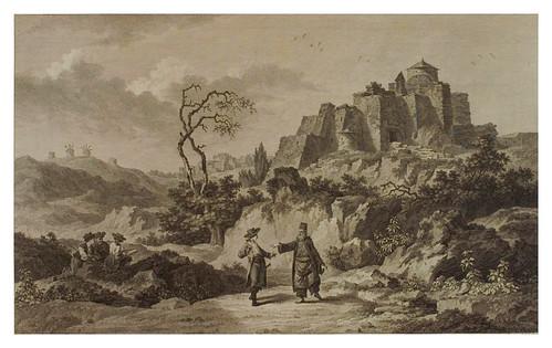 008- Vista del convento de Pathmos-Voyage pittoresque de la Grèce 1782