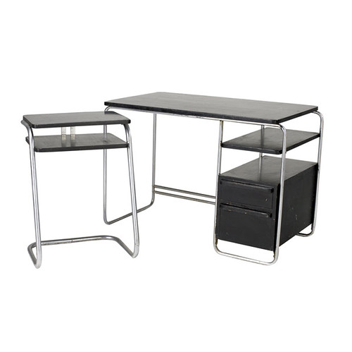 modern desk auction