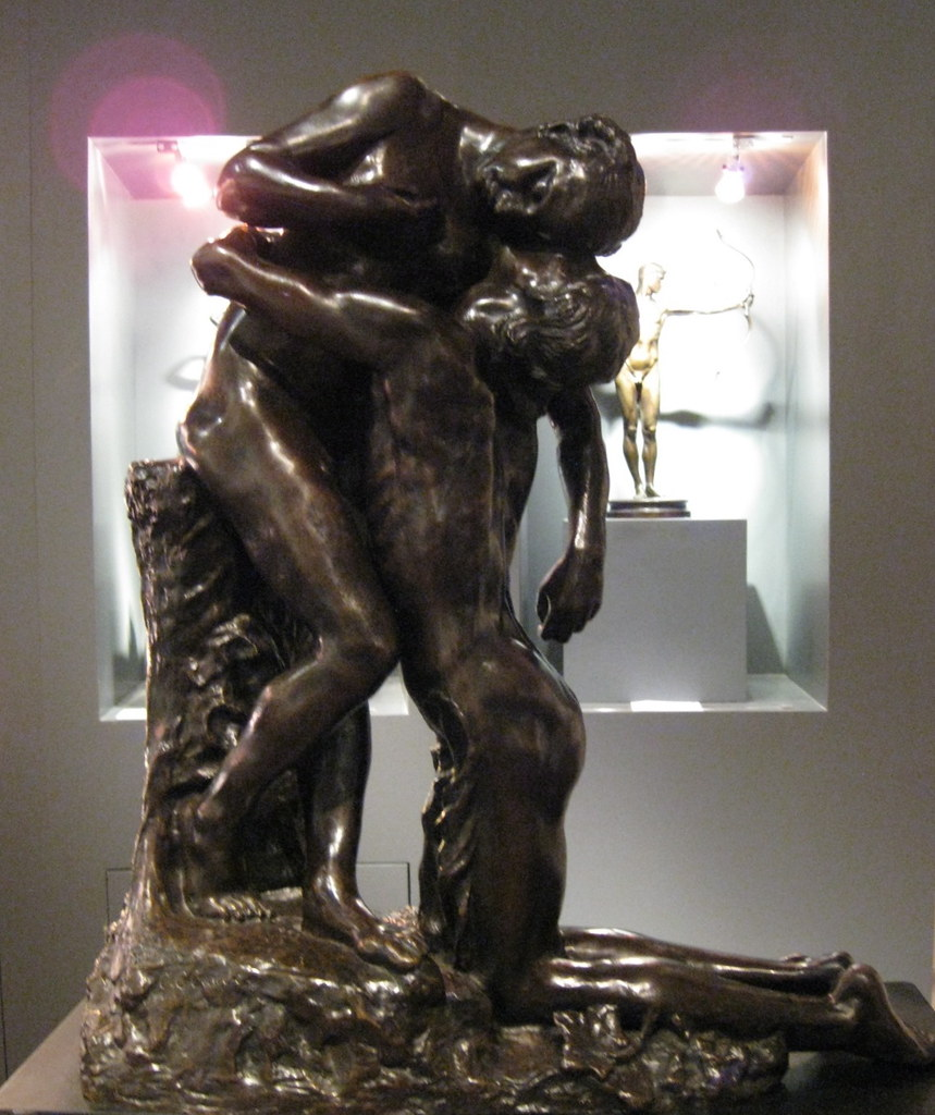 Camille Claudel (French, 1864-1943) LAbandon (c. 1905) Bronze. Robert Brown Galleries, London.