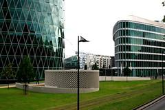 Westhafen, Frankfurt/Main 2009 (Spiegelneuronen) Tags: architektur westhafen westhafentower frankfurtmain schneiderschumacher geripptes