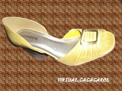 PEEP COURO ESCOVADO N 38.couro legtimo (virtual.cacacarol) Tags: luxo mercadorias