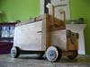 Homemade wooden truck