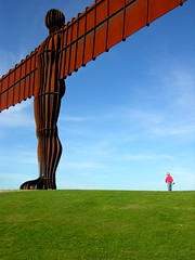 Angel of the North (Drippy2009) Tags: sculpture angel walk north minimal angelofthenorth