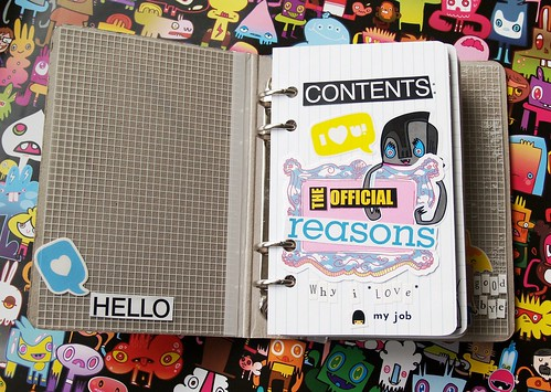 My Work Book: Contents