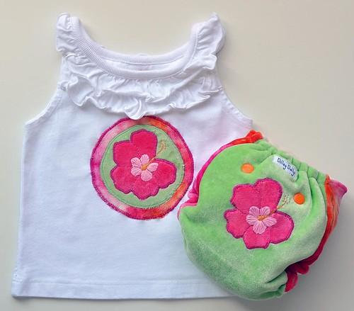 Custom Aloha Diaper