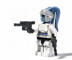 "The Jedi can keep their ""civilised weapons"" (olo) Tags: starwars lego space explore prototype sample scifi stormtrooper minifig weapons blaster preview clonetrooper femtrooper twilek brickarms foitsop freebap"