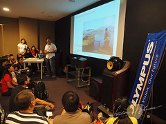 """Jam Packed """"Travel Photography"""" Lecture at FUlly Booked"""