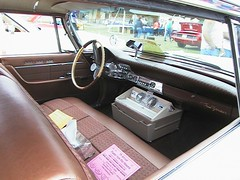 1961 Chrysler New Yorker 4-door hardtop wagon (coconv) Tags: auto old cars car vintage four automobile market interior seat air front newyorker dash after dashboard chrysler conditioner blart