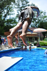 Friday: 7.4.2009 (Jesse757) Tags: party holiday four 50mm jumping nikon day weekend 4th july saturday diving jeremy shutter gathering midair poolside july4th independence fourth airborne 2009 cookout 13200 d700