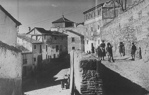 Plaza de San Cipriano a principios del siglo XX. Archivo Rodriguez