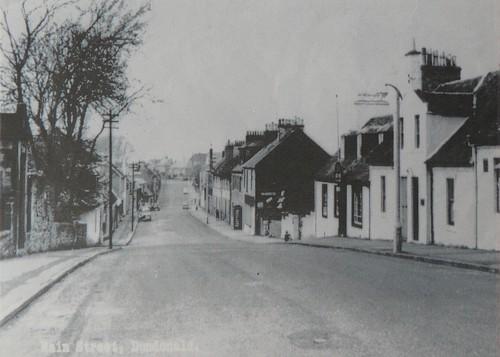 Dundonald Main Street looking north 1950s