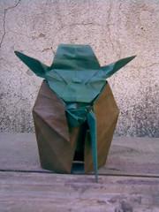 yoda (Sergio.A.Spinolo) Tags: origami yoda papiroflexia kawahata fumiaki
