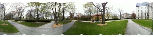Panorama at Northwestern University