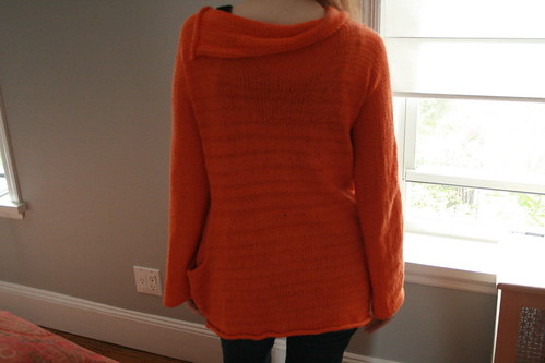 Sunset Cardi Back