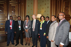 Minister for Overseas Territories with T&CI delegation