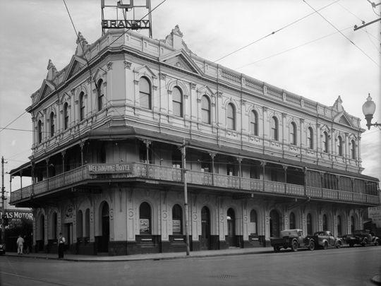 Melbourne Hotel 1950