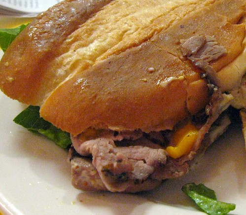roast beef close up