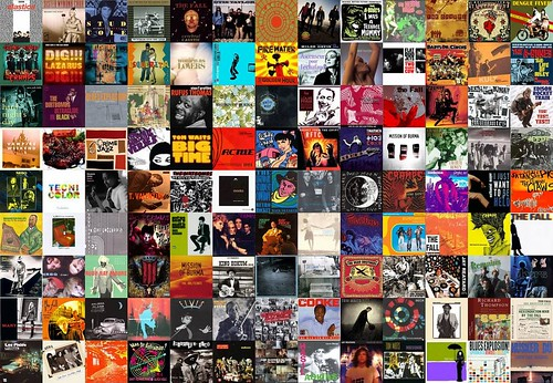 Collage of my LAST.fm library