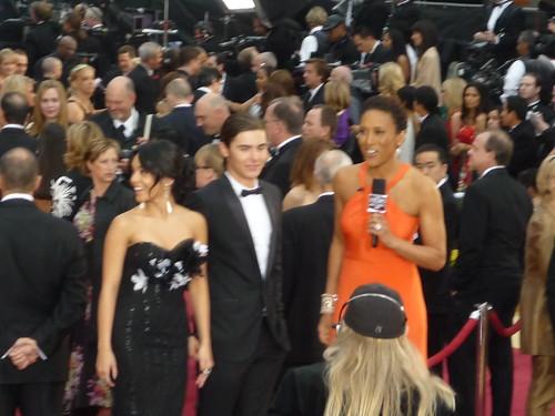 Vanessa Hudgens And Zac Efron 2009. Oscars 2009: Vanessa Hudgens,
