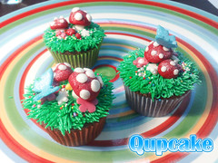 ({ Qupcake }) Tags: flower cute colors yummy yum sweet mini mashroom cupcake     qupcake