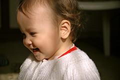 Happiness of Freedom (Ahmet Okkol) Tags: life baby smile nikon child d70s gl 2009 hayat ocuk bebek mutluluk factorx zgrlk okkol