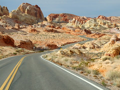 Valley Of Fire State Park - Overton, NV USA (tossmeanote) Tags: statepark park color valleyoffire rock contrast landscape fire sandstone colorful desert state nevada scenic nv valley vista multicolored brilliant formations desertlandscape geological overton mulitcolored tossmeanote