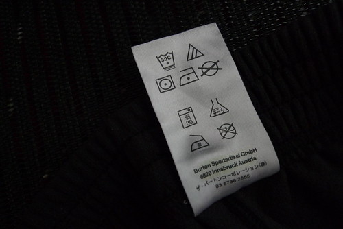 Le etichette dei vestiti