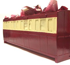 Maroon & Cream coach