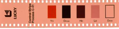 control strip of luckyFilm