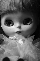 Annabelle in Black and white