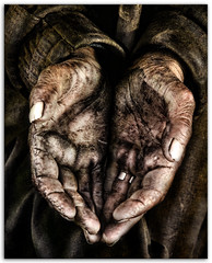 """ The Hands "" (Alfredo11) Tags: poverty street old man texture textura mxico calle hands homeless oldman dirty nails alfredo pobre petition cap"