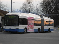 VBL Trolleybus #204 in Lucerne, Switzerland (R. Kurmann) Tags: bus switzerland lucerne trolleybus vbl