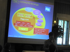 Jen Burton from Digg at the March 2009 Online Community Business Forum - Sonoma, CA