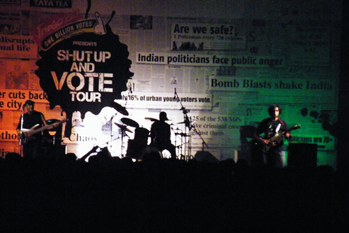 TAAQ kicks off the Shut Up And Vote Tour at IIT-Madras, Chennai