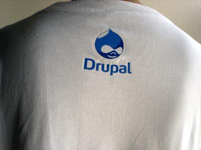 Drupal t-shirt - Back
