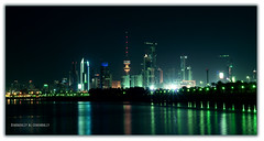 Kuwait City ... (Bally AlGharabally) Tags: city night photographer designer kuwait rai bally  gharabally algharabally
