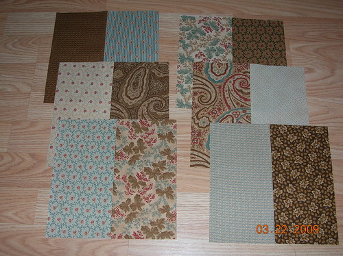 Oh, Fransson's quilt-along Block A