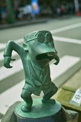 水木しげるロード mizuki-shigeru road サラリーマン山田 salaryman-yamada (by puffyjet)