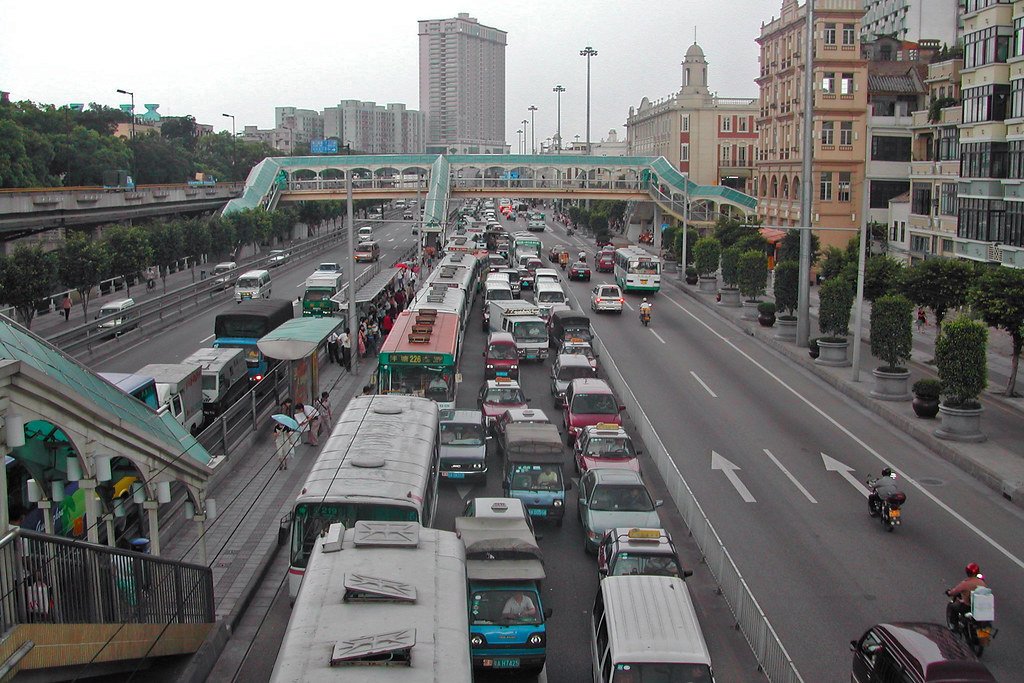 Traffic in Guangzhou