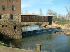 Bollinger Mill and Covered Bridge (whitebuffalobk) Tags: mill missouri coveredbridge burfordville bollingermill