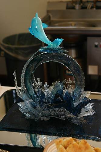 Sugar Work - Dolphin Showpiece