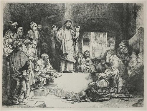 "Jesus Preaching (""La Tombe"")"
